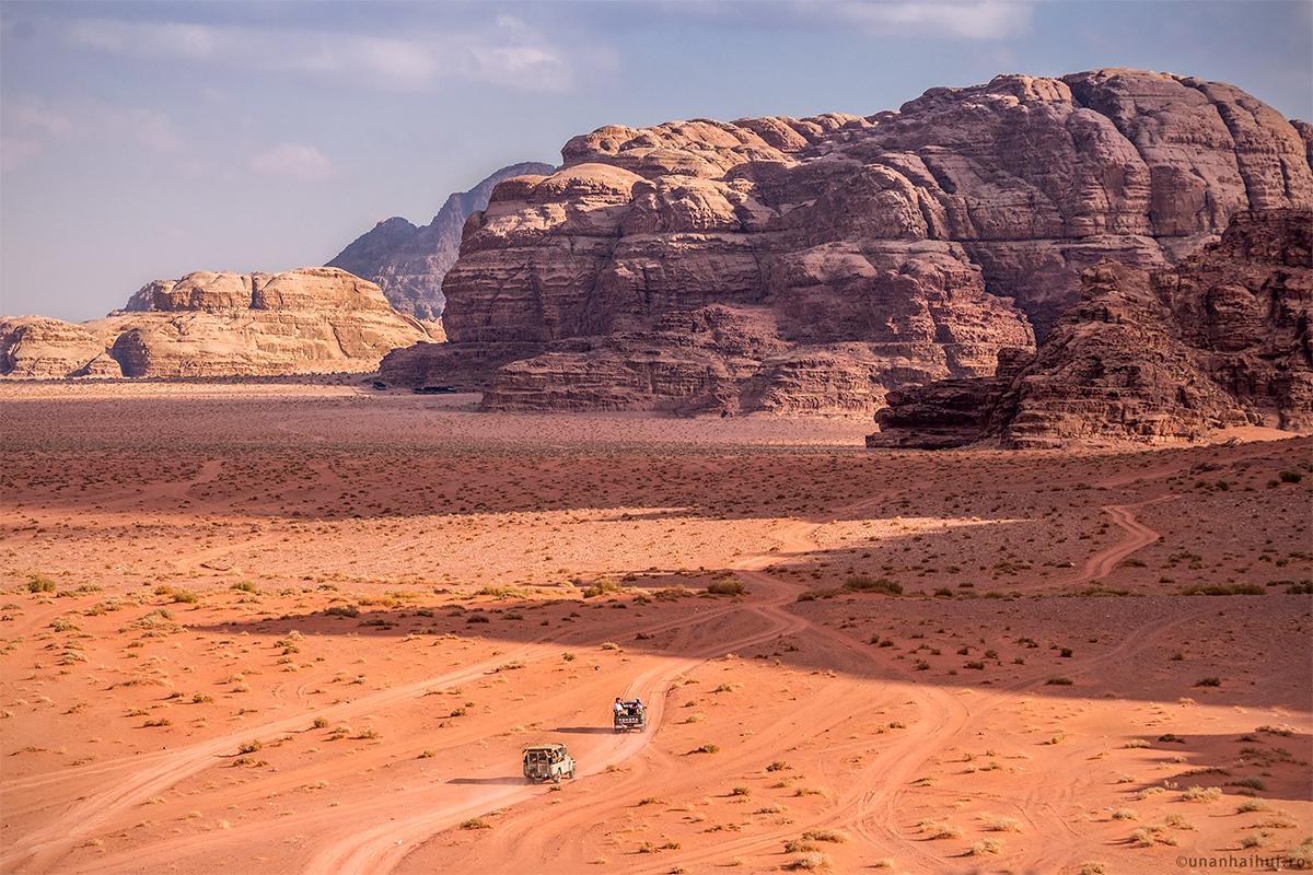 O zi si o noapte in desertul Wadi Rum