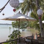 Restaurantul de pe est, cu vedere catre Koh Yao Yai