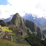 Panorama aspura orasului Machu Picchu.