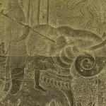 Detaliu de la Angkor Wat