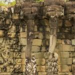 Angkor Thom - Terasa Elefantilor