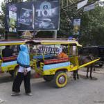 Piata in Mataram, capitala insulei