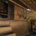 Interiorul simplu a unei case traditonale