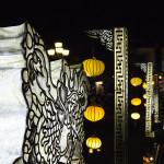 Lampioanele celui mai traversat pod din oras