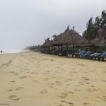 Una din cele doua plaje din apropiere