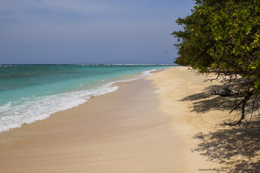Plaja pustie in Gili T