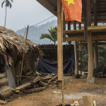 Casa traditionala si o familie de patrupede la raport