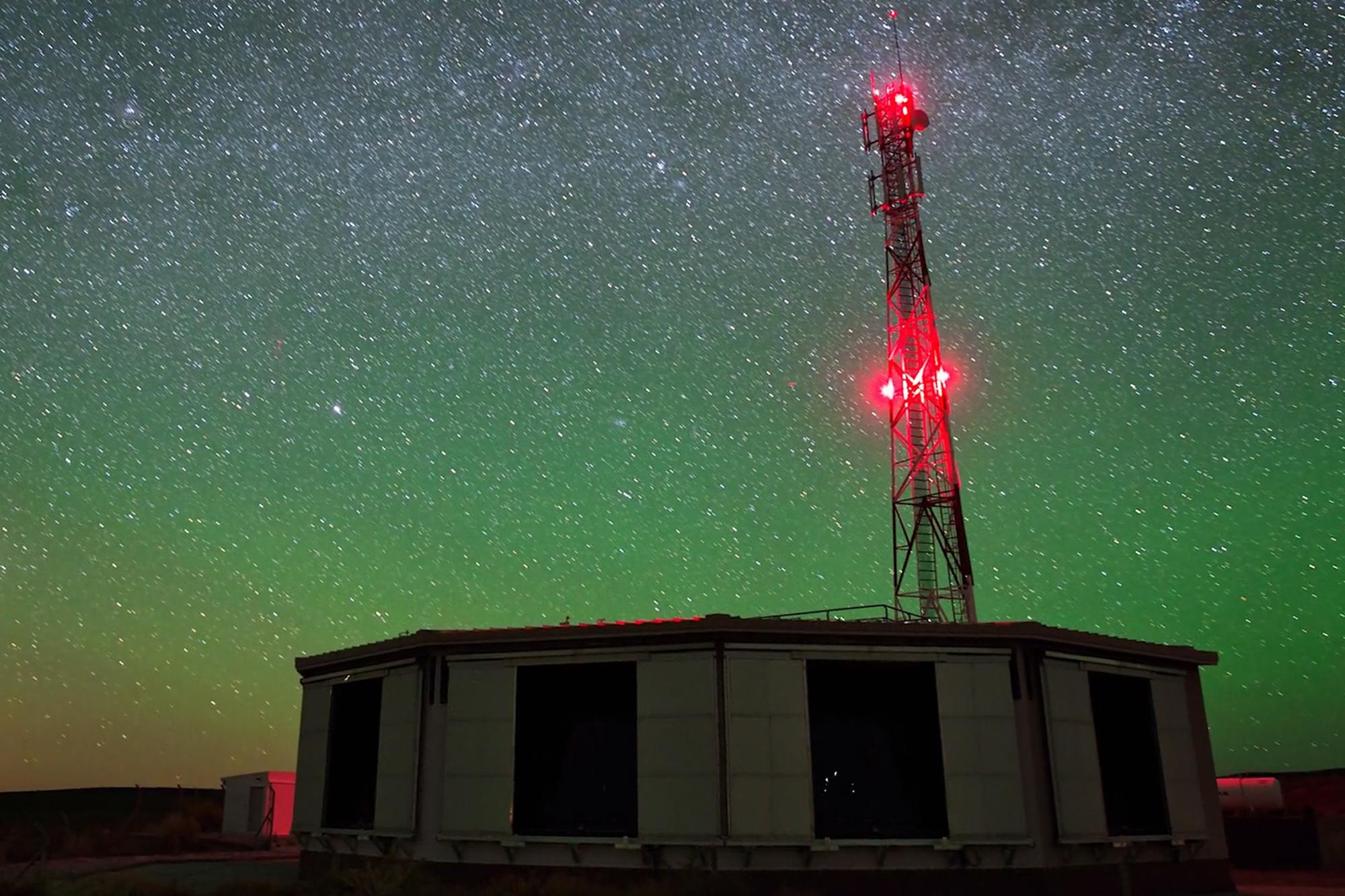 Imaginea apartine Observatorului Pierre Auger (http://www.auger.org/)