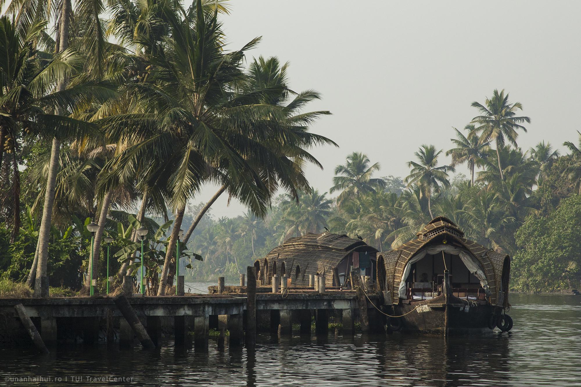 Croaziera pe canalele din Alleppey (Kerala)