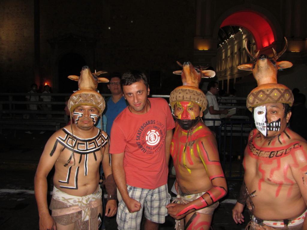 Adevaratii mayasi dupa un joc de pelota
