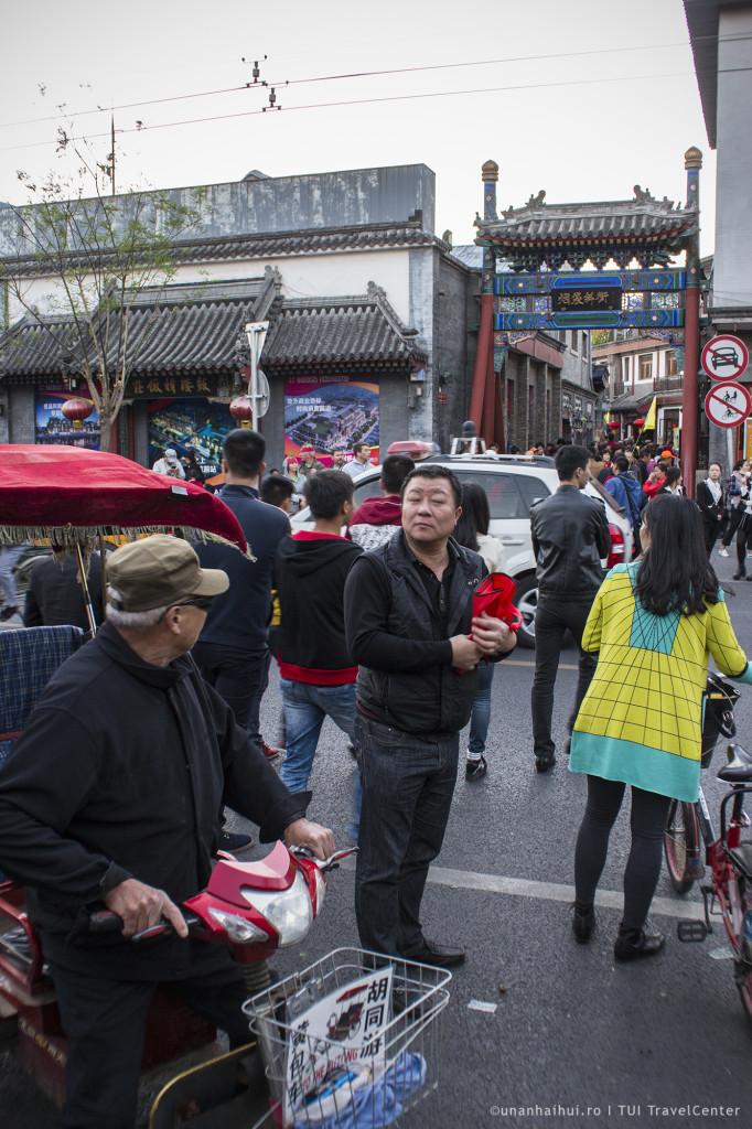 Aglomeratie in vechiul Beijing