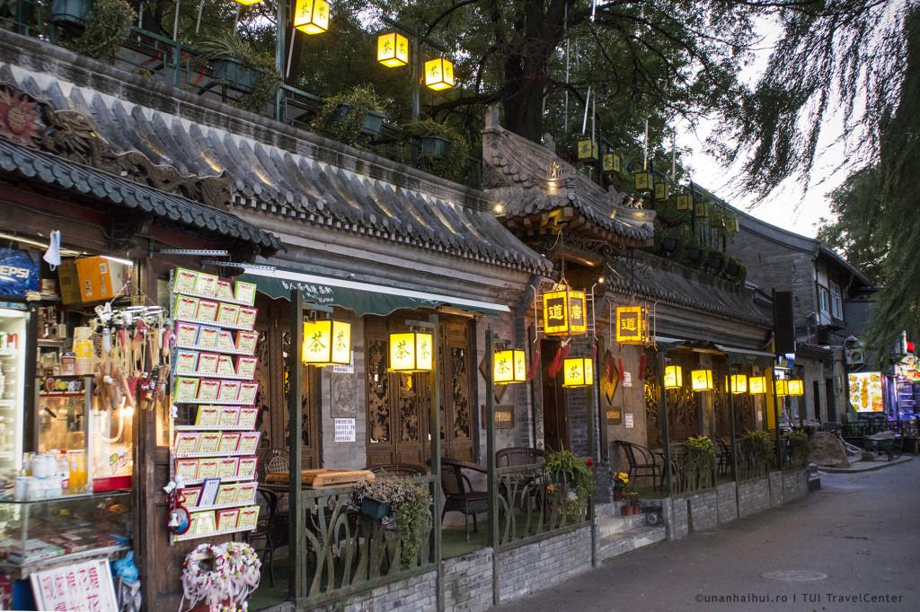 Fatada cocheta in Beijingul vechi