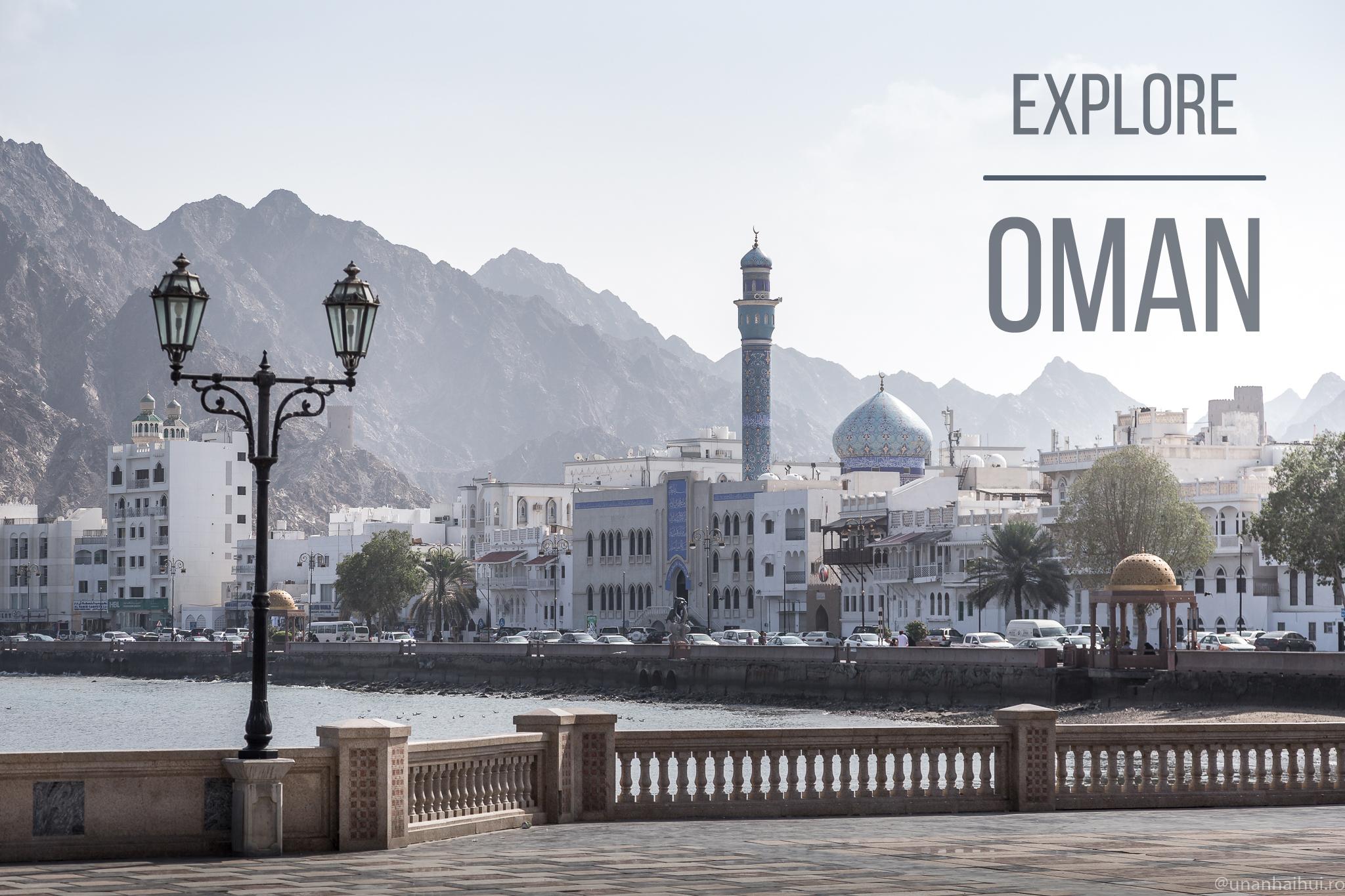 Vacanță în Oman – moderație și elegantă în Muscat (partea I)