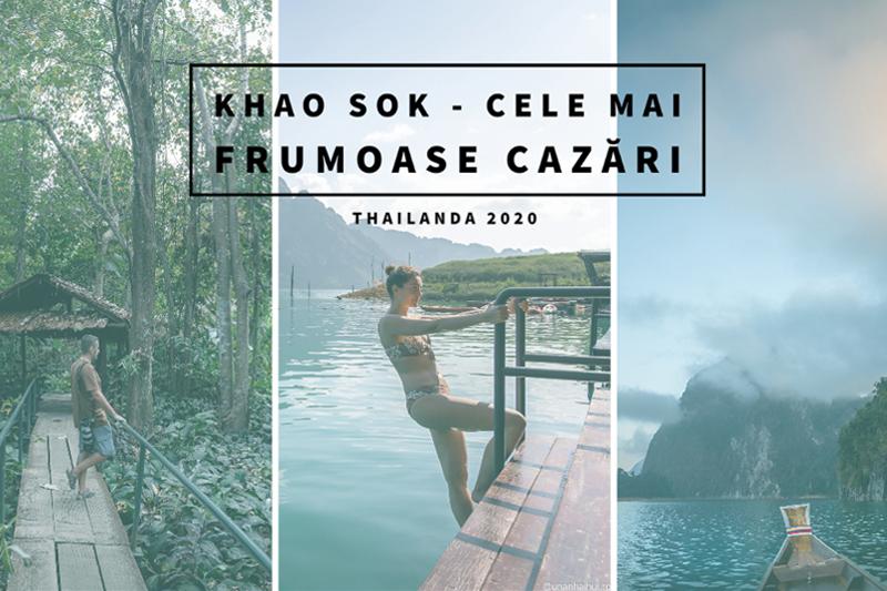Khao Sok – cele mai frumoase cazări din Thailanda