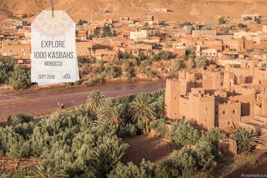 Drumul celor 1000 de Kasbah-uri, Maroc