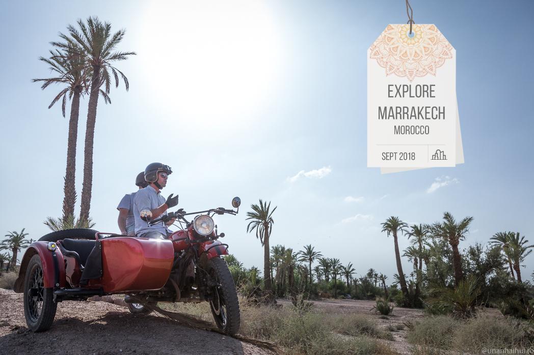 Cum se vede Marrakech-ul de pe motocicletă
