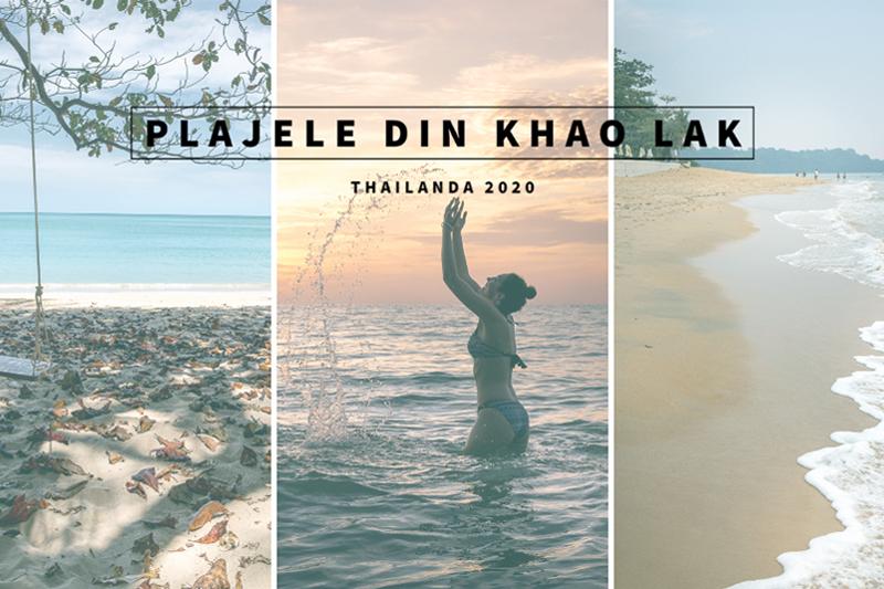 Plajele din Khao Lak, Thailanda