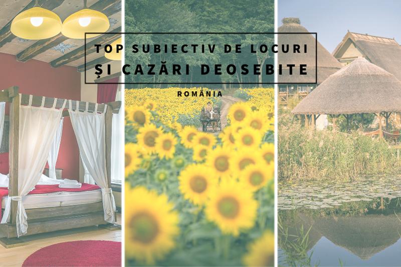 Unde călătorim în 2020? România – top subiectiv de locuri și cazări deosebite